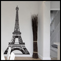 Vinyl Wall Decor - Eiffel Tower Large