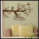 Vinyl Wall Decor - Birds on a Branch